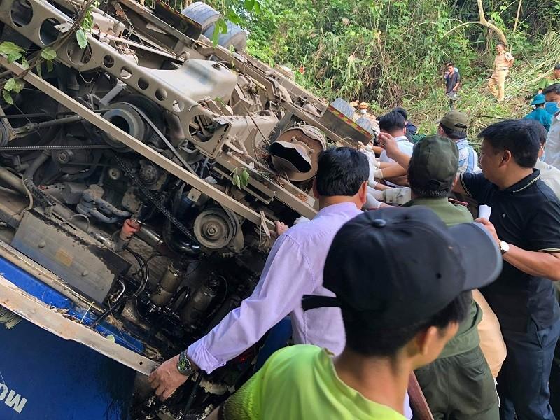 Tai nạn 5 người tử vong ở Kon Tum: Tài xế nói xe bị mất thắng - ảnh 6