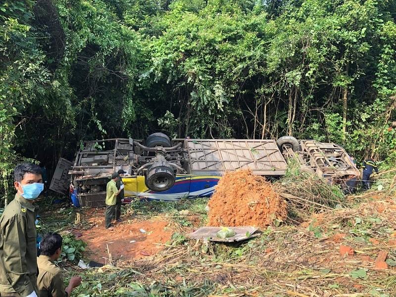 Tai nạn 5 người tử vong ở Kon Tum: Tài xế nói xe bị mất thắng - ảnh 2