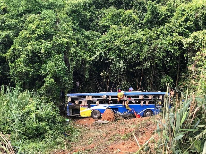 Tai nạn 5 người tử vong ở Kon Tum: Tài xế nói xe bị mất thắng - ảnh 3