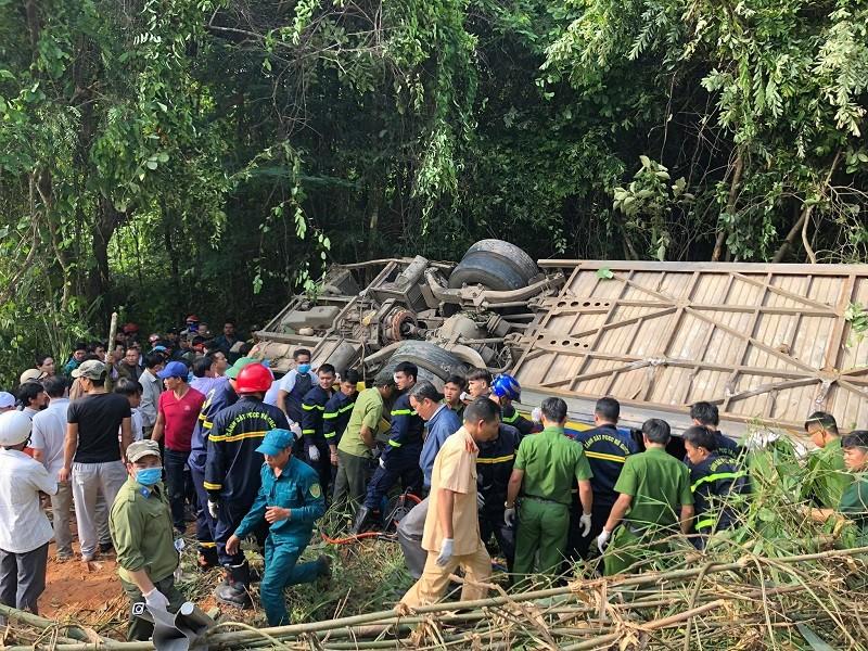 Tai nạn 5 người tử vong ở Kon Tum: Tài xế nói xe bị mất thắng - ảnh 5