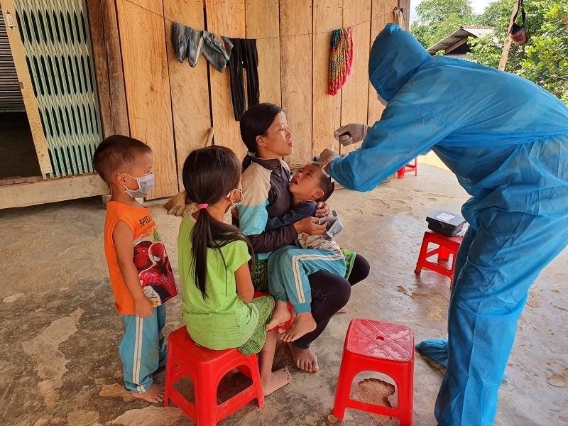 Bé gái 9 tuổi ở Quảng Trị dương tính với bệnh bạch hầu - ảnh 1