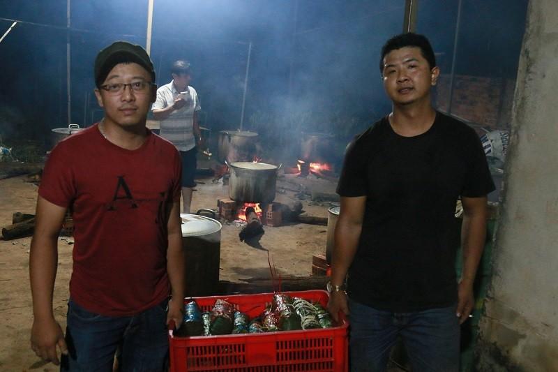Người dân Đắk Lắk gói bánh tét gửi tặng đồng bào miền Trung  - ảnh 8