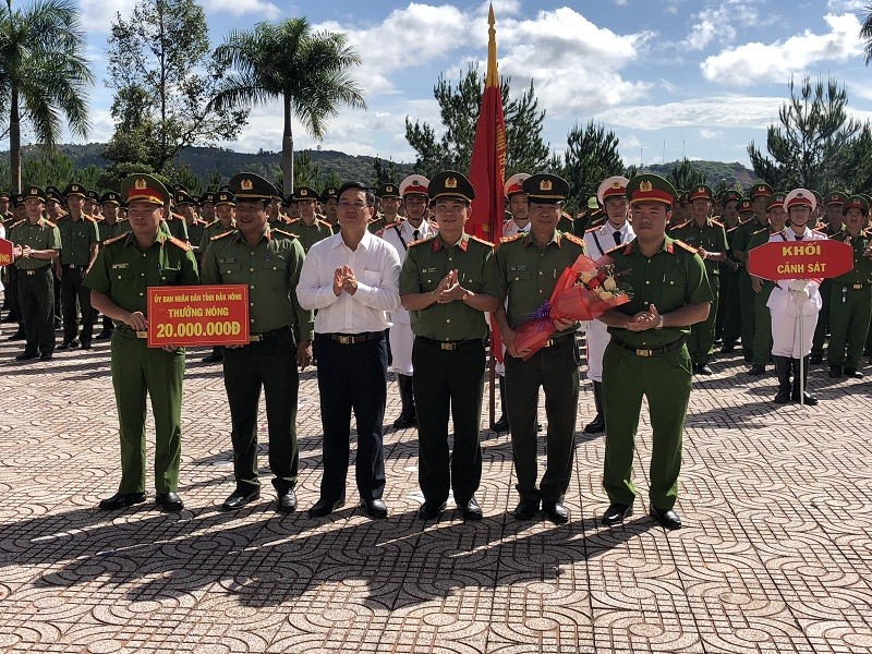 Công an Đắk Nông được thưởng 'nóng' vì triệt phá vụ án ma túy  - ảnh 1