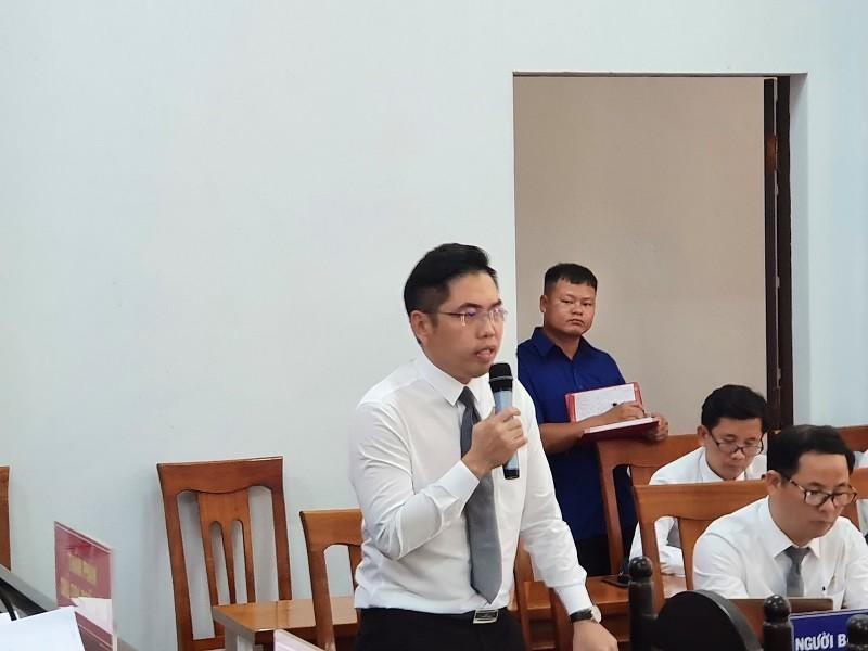 Tòa quay trở lại xét hỏi Trịnh Sướng về công thức pha xăng giả - ảnh 2