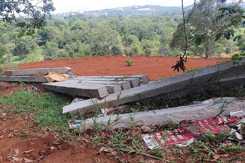 Đắk Nông: Rầm rộ san đồi, mở đường trái phép - ảnh 3