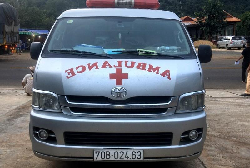 Gia Lai:Tạm giữ tài xế xe cấp cứu vi phạm phòng chống dịch - ảnh 1