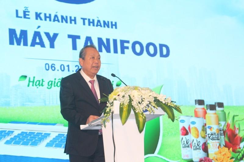 Khánh thành nhà máy chế biến nông sản lớn nhất Đông Nam Á - ảnh 1