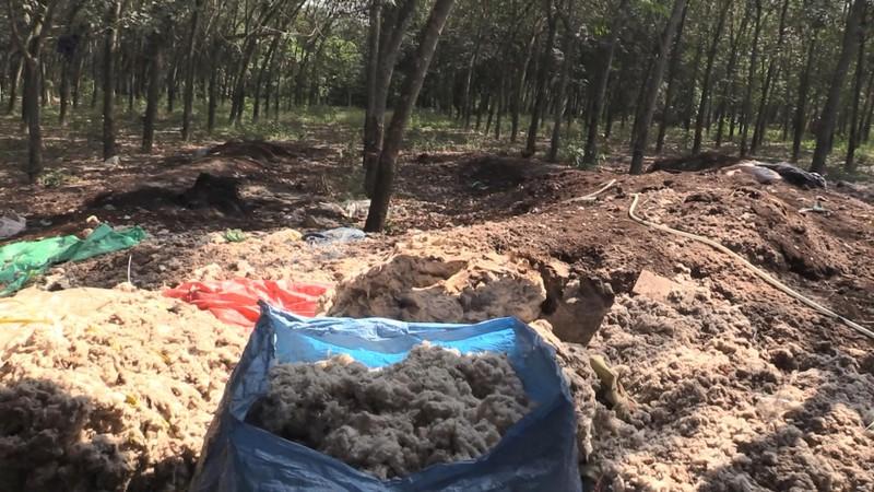 Lén đổ chất thải ra môi trường bị bắt quả tang - ảnh 1