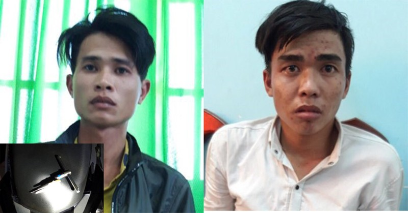 Bình Dương: 2 người nghiện đang trộm thì gặp công an - ảnh 1