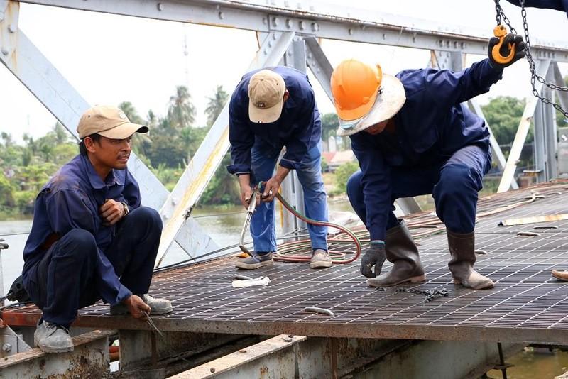 Người dân tiếc nuối khi cây cầu hơn 100 năm tuổi bị tháo dỡ - ảnh 7
