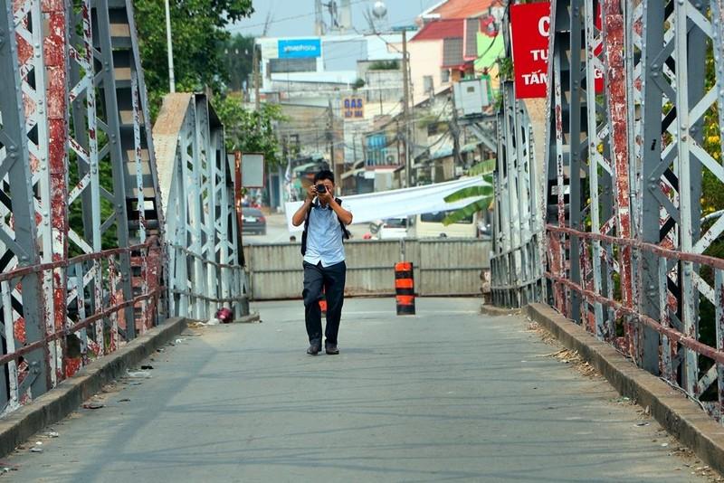 Người dân tiếc nuối khi cây cầu hơn 100 năm tuổi bị tháo dỡ - ảnh 10