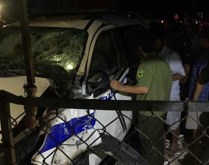 Đình chỉ công tác cán bộ lái xe CSGT gây tai nạn ở Bình Dương - ảnh 2