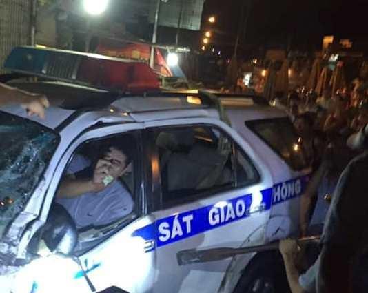 Vụ xe CSGT Bình Dương gây tai nạn: 'Lỡ hẹn thôi nôi cho con' - ảnh 2