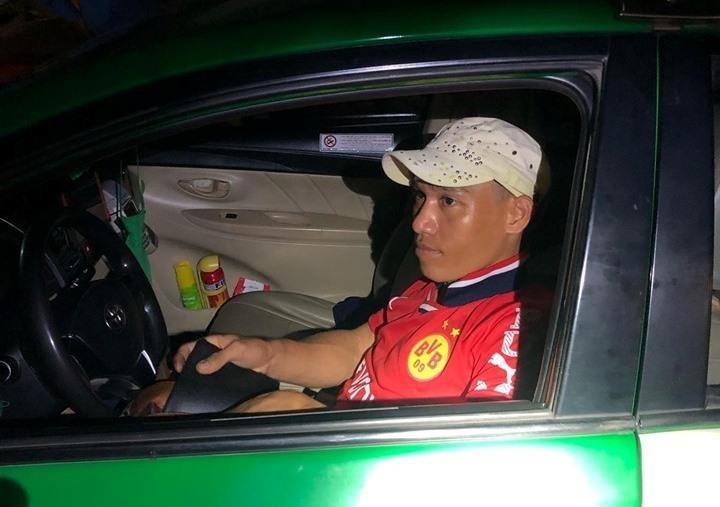 Kề dao cướp xe taxi tại Bình Dương - ảnh 2