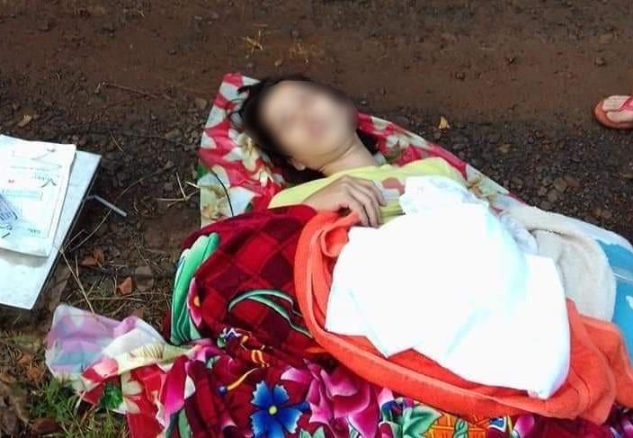 Điều tra nguyên nhân bé trai tử vong vụ tài xế bỏ rơi sản phụ - ảnh 1