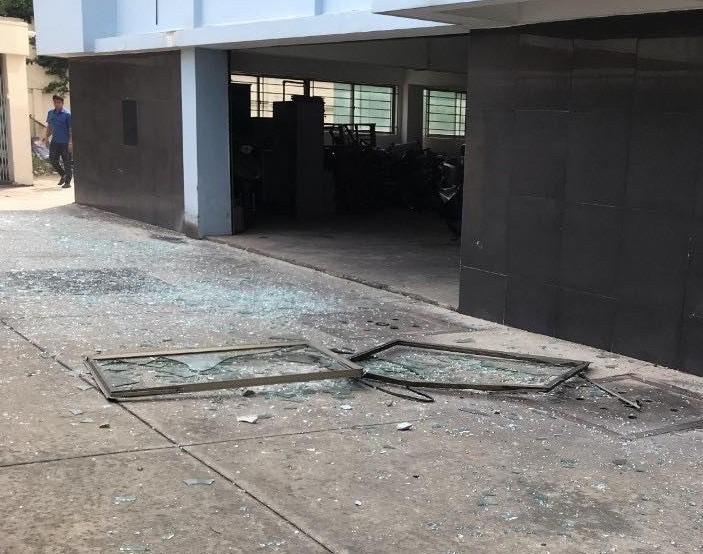 Công an thông tin vụ nổ tại Cục Thuế tỉnh Bình Dương - ảnh 2