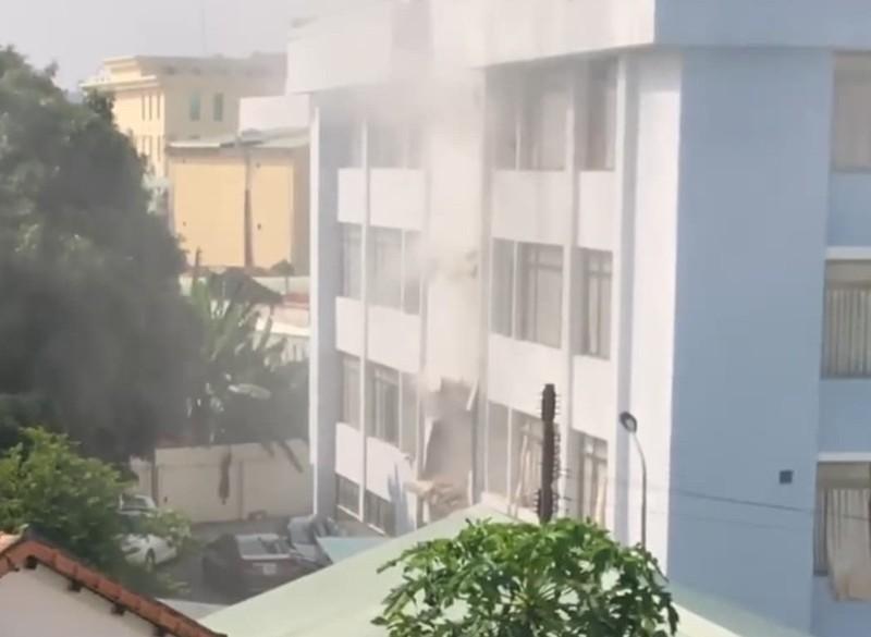 Công an thông tin vụ nổ tại Cục Thuế tỉnh Bình Dương - ảnh 1