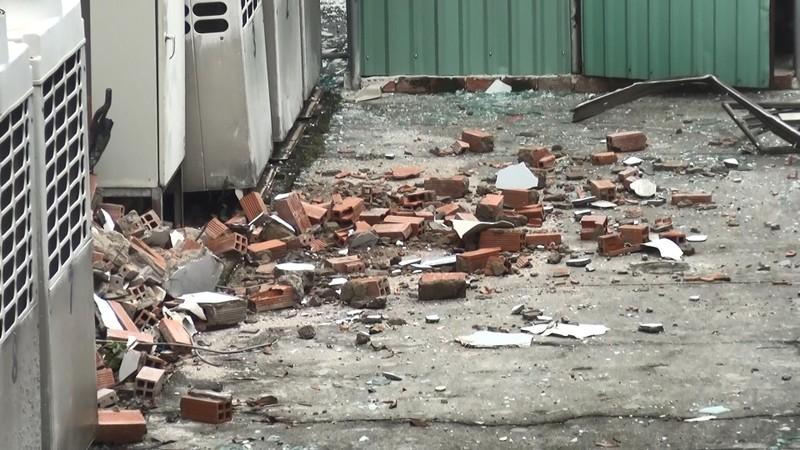 Sau vụ nổ, Cục Thuế Bình Dương hoạt động trở lại bình thường - ảnh 3