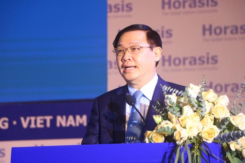 Phó Thủ tướng Vương Đình Huệ khai mạc Horasis 2019 Bình Dương - ảnh 1