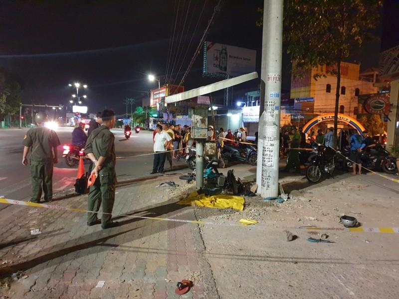 Nghi CSGT Bình Dương truy đuổi dẫn tới tai nạn chết người - ảnh 1