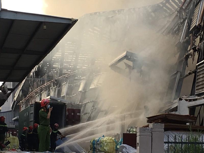 Bình Dương: Một công ty đang bốc cháy dữ dội - ảnh 11