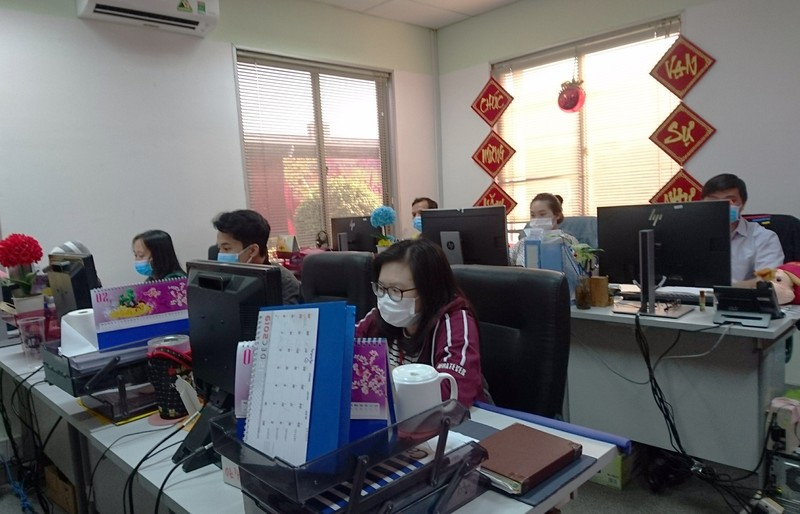 Hình ảnh công nhân Bình Dương phòng, chống virus Corona - ảnh 17