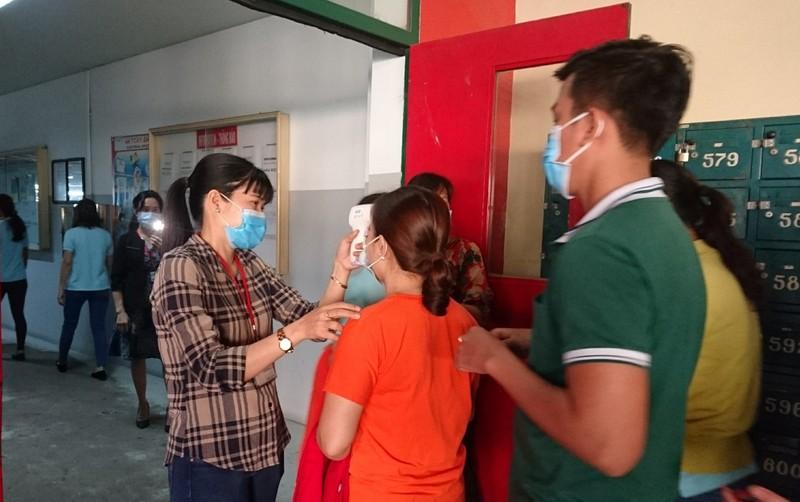 Hình ảnh công nhân Bình Dương phòng, chống virus Corona - ảnh 10