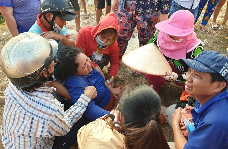 Bình Dương: Hai bé gái rơi xuống hồ nước chết thương tâm - ảnh 3