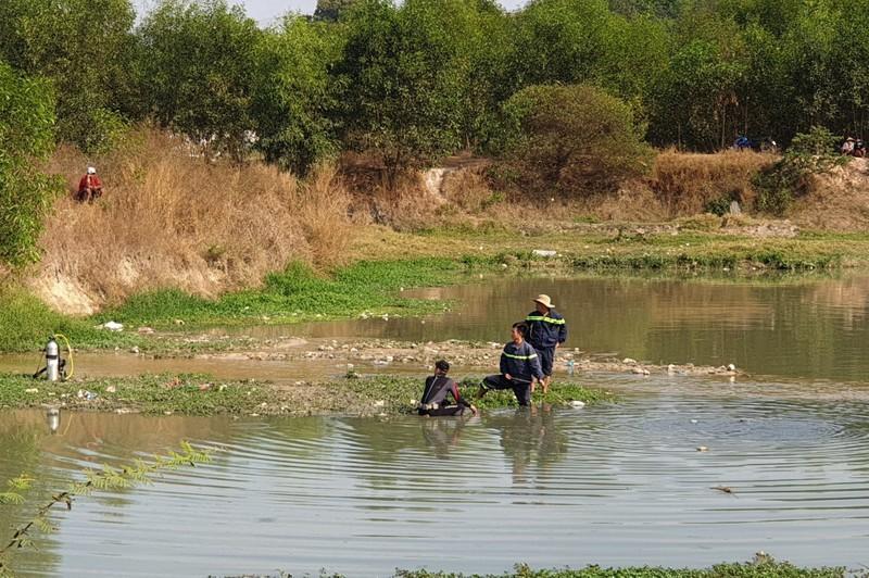 Bình Dương: Hai bé gái rơi xuống hồ nước chết thương tâm - ảnh 2