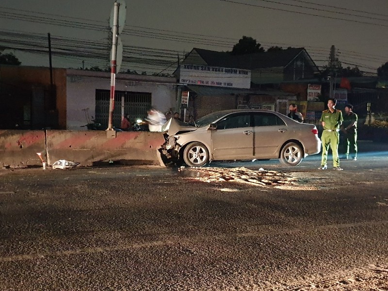 Bình Dương: Một đêm 4 người chết vì tai nạn giao thông - ảnh 1