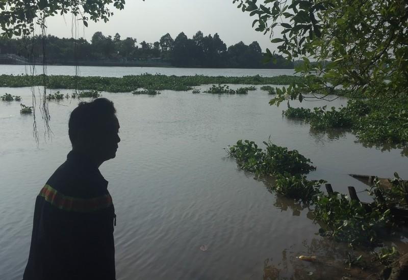 2 học sinh lớp 7 tắm sông ở Bình Dương, 1 em mất tích - ảnh 1