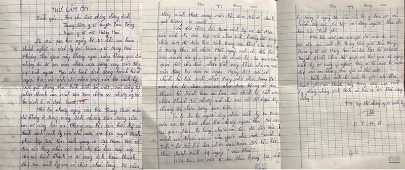 Tâm thư xúc động của cô gái Bình Dương cách ly phòng dịch bệnh - ảnh 1