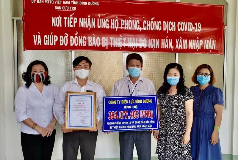 Bình Dương: Hơn 7 tỉ đồng ủng hộ phòng, chống dịch COVID-19 - ảnh 2