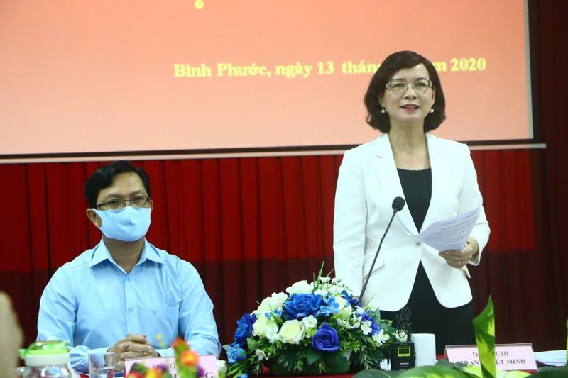 Bình Phước họp báo vụ lãnh đạo HĐND huyện cự cãi đo thân nhiệt - ảnh 2