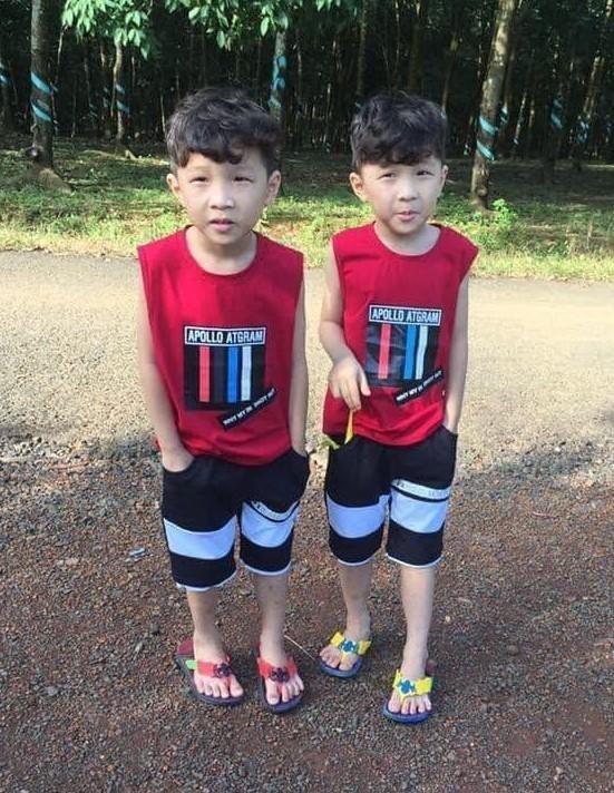 2 bé sinh đôi 7 tuổi tại Bình Phước mất tích bí ẩn - ảnh 1