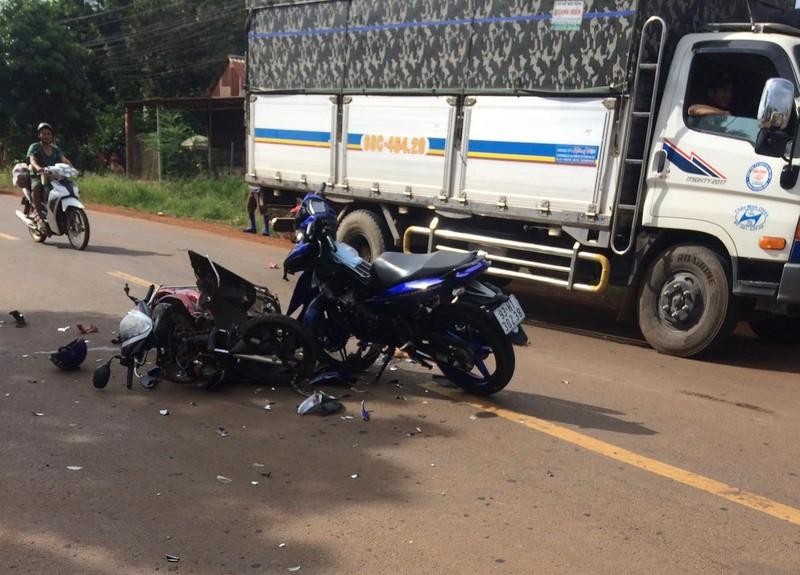 Bình Phước: 2 vụ tai nạn nghiêm trọng, 4 người tử vong - ảnh 2