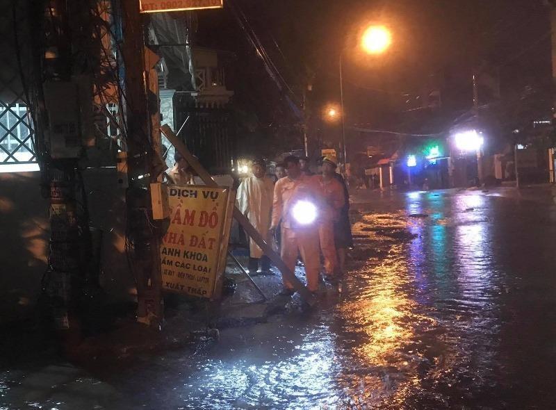 Bình Dương: Nghi điện rò khi trời mưa làm 3 người thương vong - ảnh 1