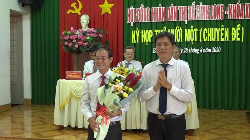 Bình Phước: Thị xã Bình Long có tân chủ tịch và phó chủ tịch - ảnh 2