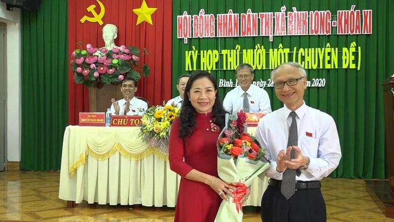 Bình Phước: Thị xã Bình Long có tân chủ tịch và phó chủ tịch - ảnh 1