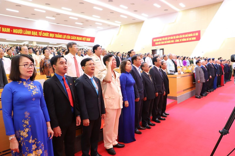 Bình Phước khai mạc Đại hội Đảng bộ lần thứ XI - ảnh 2