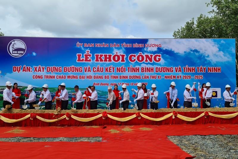 Khởi công tuyến đường nối Bình Dương và Tây Ninh - ảnh 1