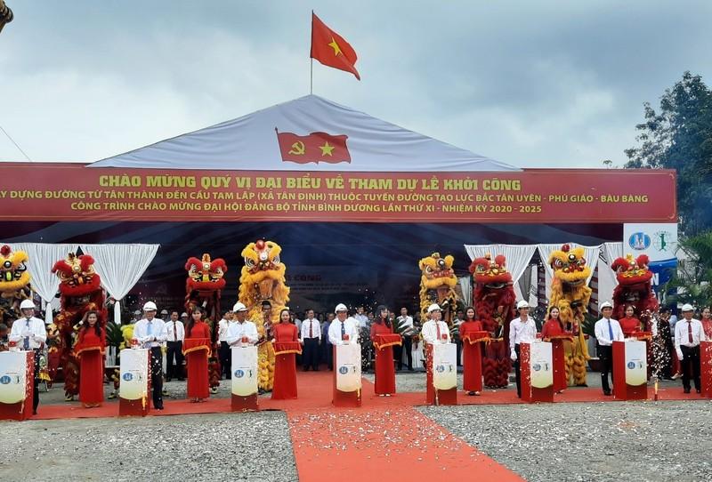 Khởi công tuyến đường nối Bình Dương và Tây Ninh - ảnh 2