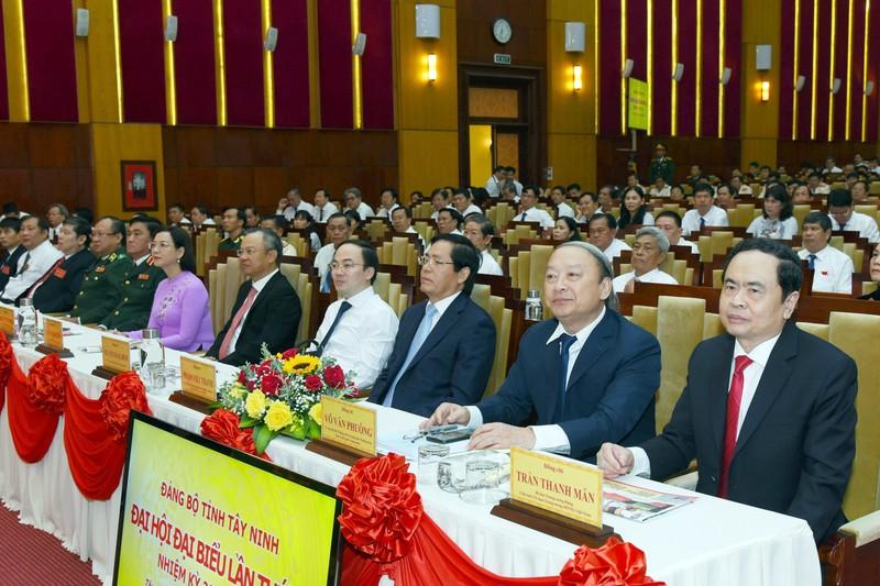 Khai mạc Đại hội Đảng bộ tỉnh Tây Ninh lần thứ XI - ảnh 1