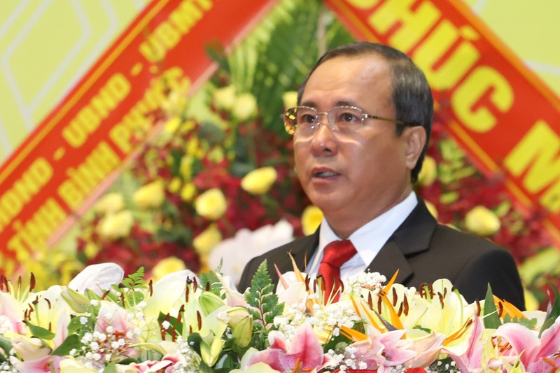 Công bố kết quả nhân sự Đại hội Đảng bộ Bình Dương khóa XI - ảnh 2
