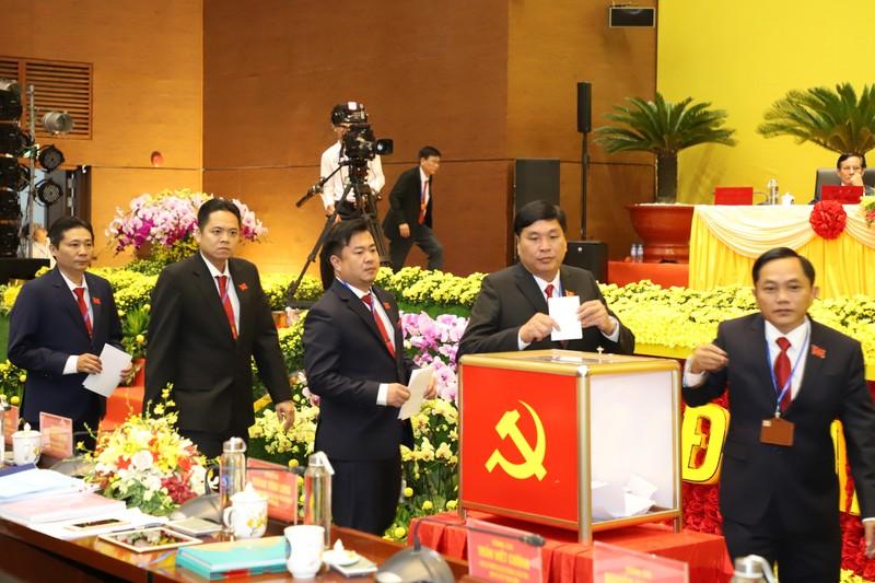 Công bố kết quả nhân sự Đại hội Đảng bộ Bình Dương khóa XI - ảnh 1