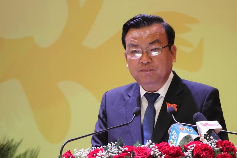 Công bố kết quả nhân sự Đại hội Đảng bộ Tây Ninh khóa XI - ảnh 3