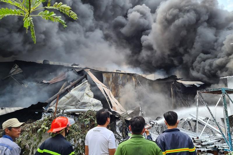 Bình Dương: Cháy lớn, cả khu dân cư hoảng loạn - ảnh 6