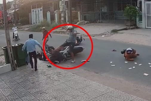 Bắt giữ nam thanh niên đánh nữ sinh sau va chạm giao thông - ảnh 2