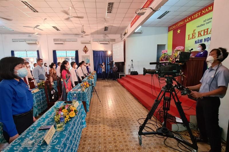 Hơn 500.000 học sinh tại Bình Dương tham dự lễ khai giảng trực tuyến - ảnh 6