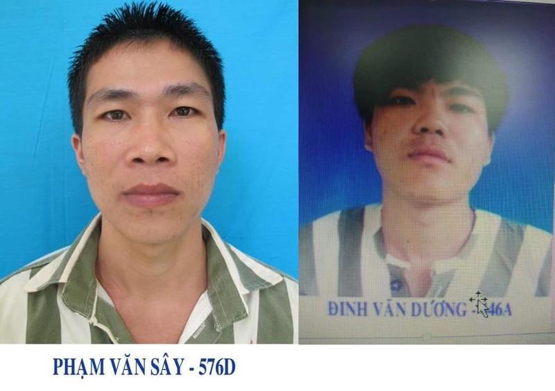 2 phạm nhân vượt ngục khỏi trại giam An Phước bị bắt giữ - ảnh 1